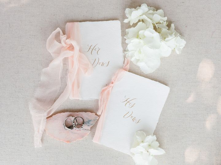 His & Her Vow Book Set