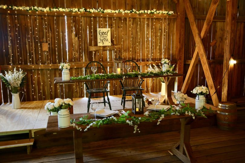 Tiered head table