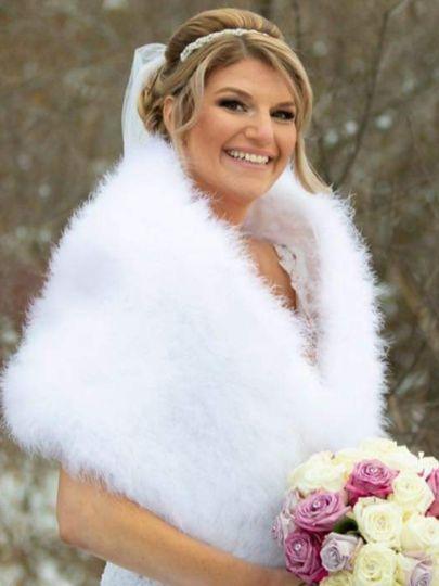 Glamorous winter style