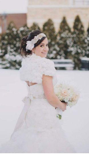 Winter Bridal Beauty