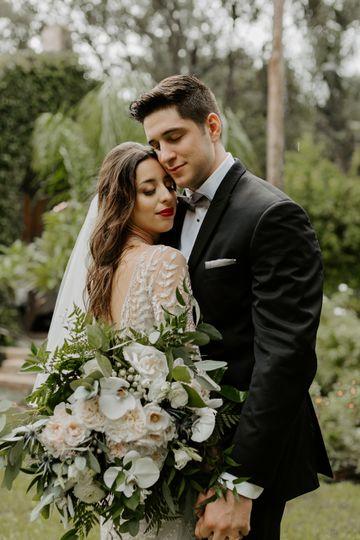 A wedding embrace - Blak & Tammy Photography
