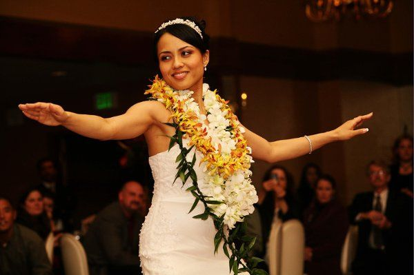 Bride's Hula Dance