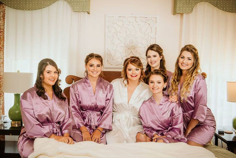 Bridal Party Makeup