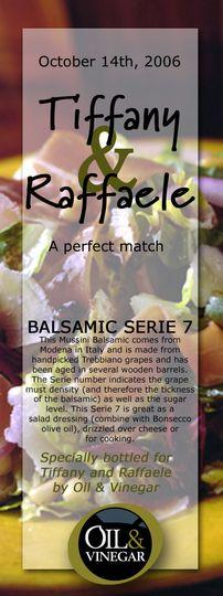 tiffany and raffaele balsamic