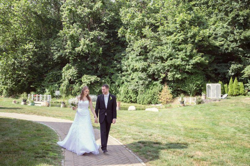 wedding ethan allen in danbury ct bride and groom