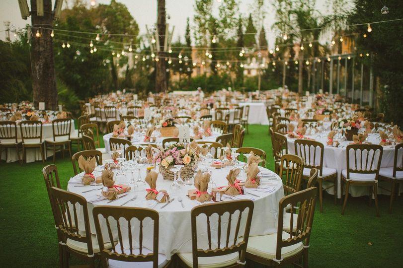 Court Yard Wedding