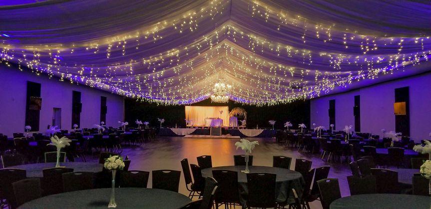 Wedding with dance floor
