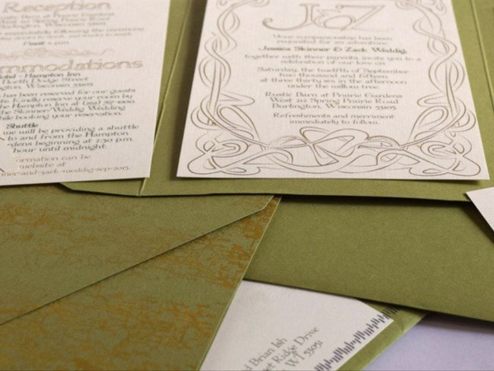 Tmx 1445262135169 4532848orig Menomonee Falls, WI wedding invitation