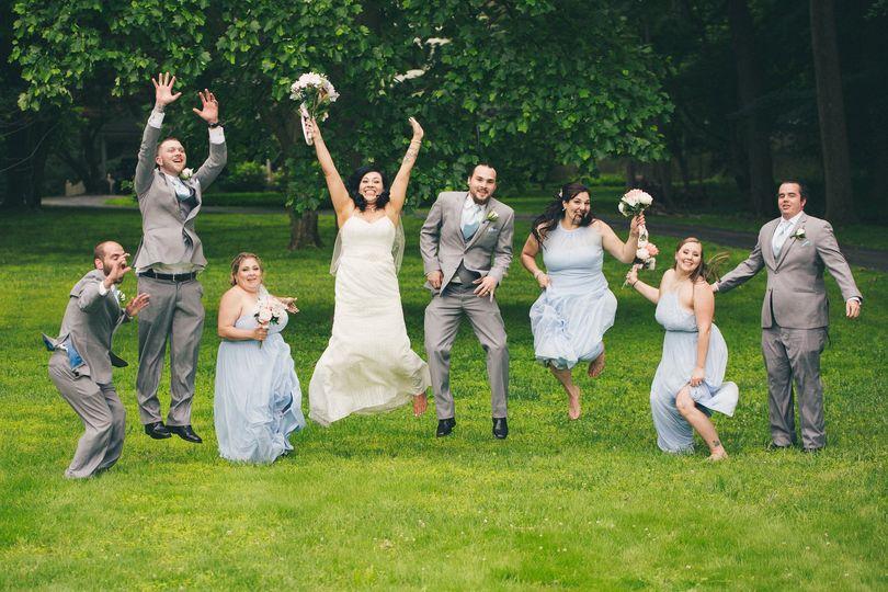 Jumping for joy - Kmkphotos