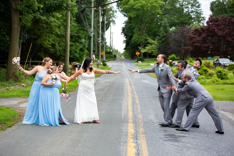 Bride and groom parties - Kmkphotos