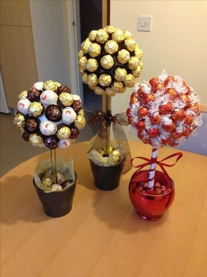 Chocolate Center Pieces