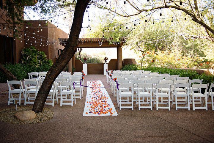 Ceremony venue - photo by mary sandy photography