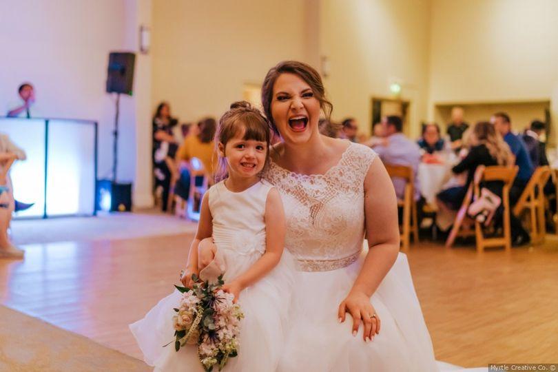 Bouquet Catcher & Bride