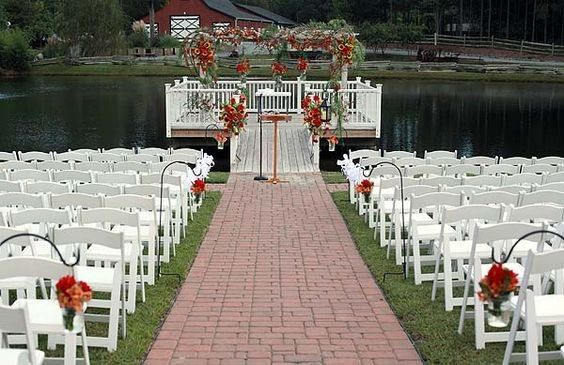 Tmx 1497295223707 The Dock With Red Flowers New Hill, NC wedding venue