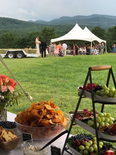 Grazing Table w/Famous House Fried Maine Potato Chips