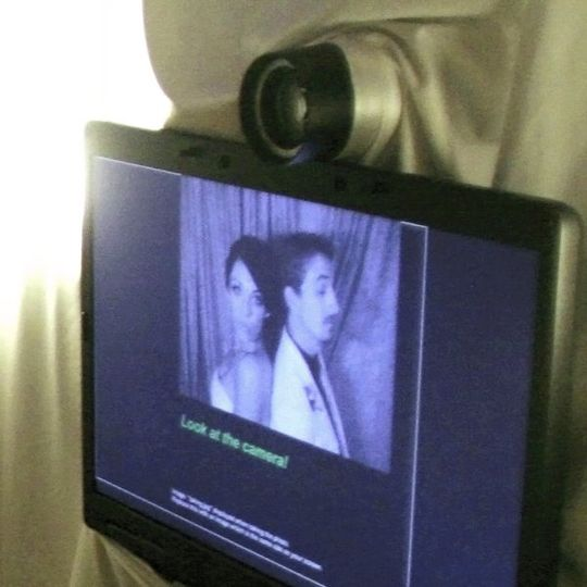 Our Live View Mirror Image Monitor lets guests see themselves before and during and a photo booth...