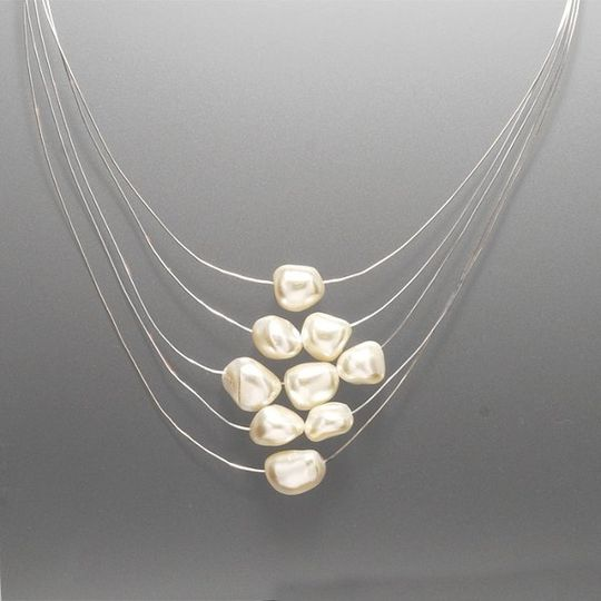Freshwater pearls on fine silver or gold filled wire. Just simply beautiful! Please note the other...