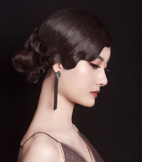 Neutral vintage glam