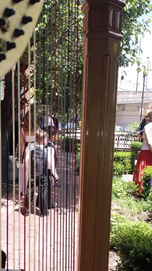 Wedding party lydia's patio