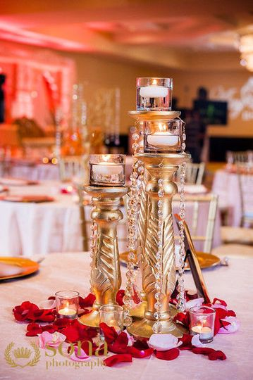 Reception details photo credit: sona photography