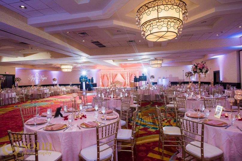 Grand Ballroom Reception  Photo Credit: Sona Photography