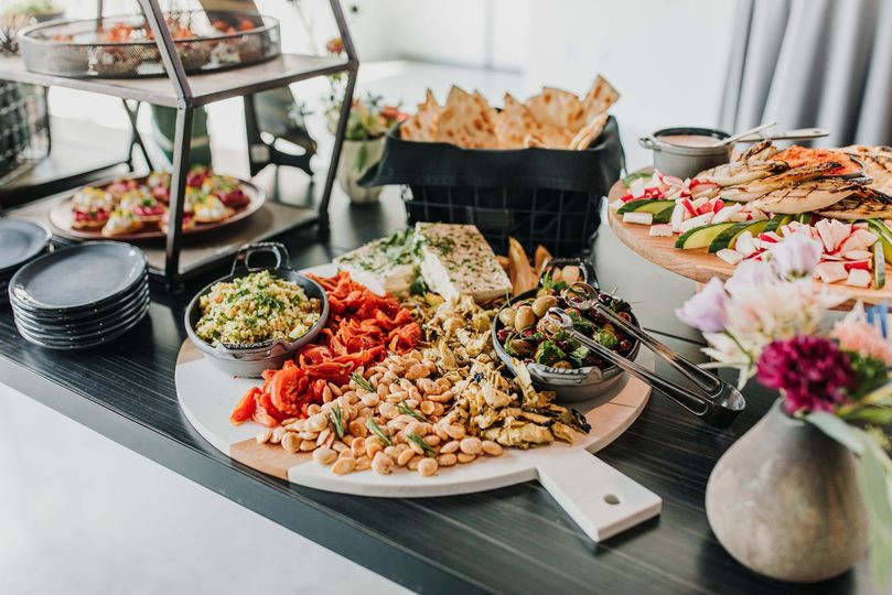 Colorful buffet