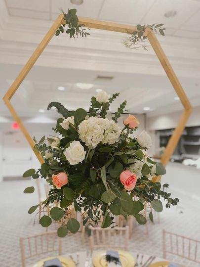 Floral at reception
