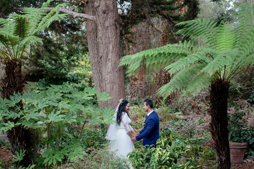 Intimate Ceremony at the Shadowbrook, Capitola.