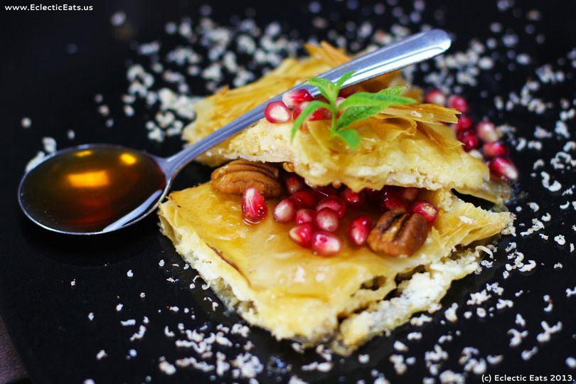 eclectic homemade baklav