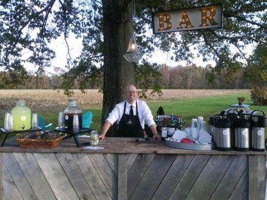 Farm Wedding Bartender Dan