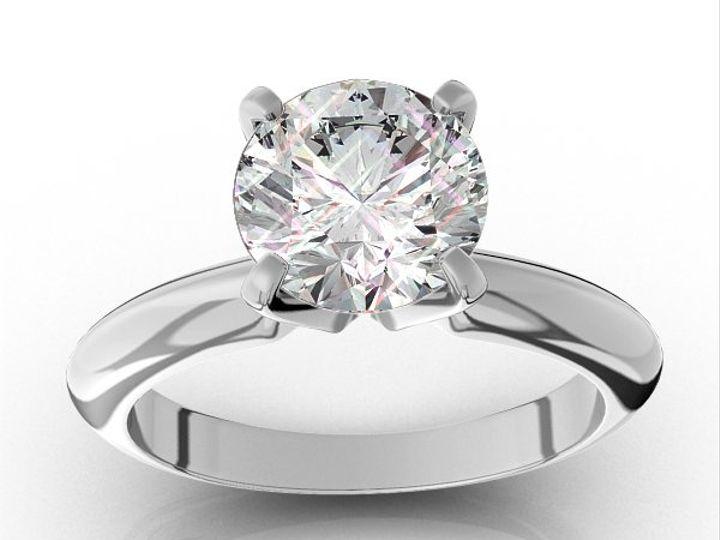 Tmx 1333034900645 06TiffanySol600x60000001 Fairfax, VA wedding jewelry