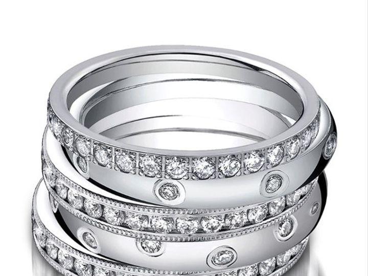 Tmx 1333035205977 Stack2 Fairfax, VA wedding jewelry