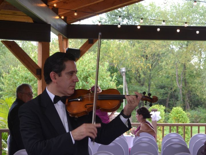 Tmx 1455052265894 Strolling Violinist Under The Pavilion Wexford wedding venue
