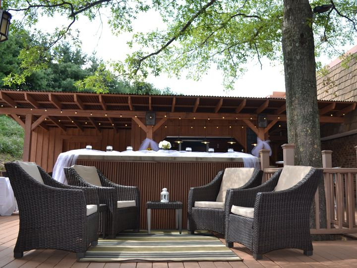 Tmx 1470147483845 Pavilion Conversation Area In Front Of The Bar Are Wexford wedding venue