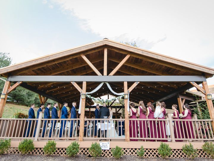 Tmx 1513793198839 Front Of Pavilion During Vows 2017 Wexford wedding venue
