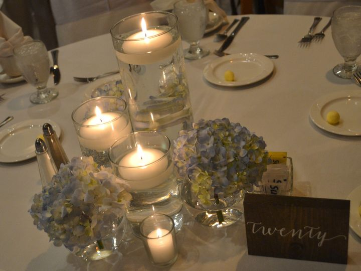 Tmx 1513794640312 Centerpiece With Hydrangia Wexford wedding venue