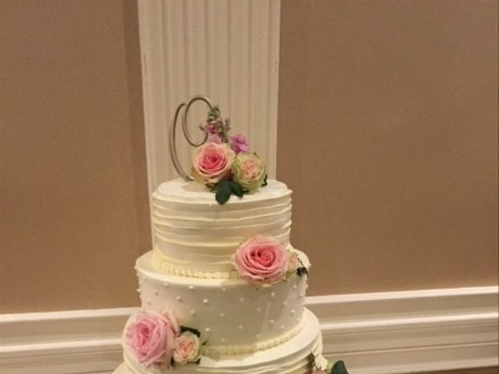 Tmx 1513795134278 Cake With Pink Fresh Flowers Wexford wedding venue