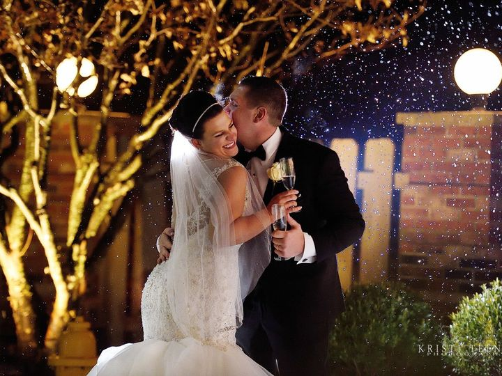 Tmx Couple With Snow 51 10515 Wexford wedding venue