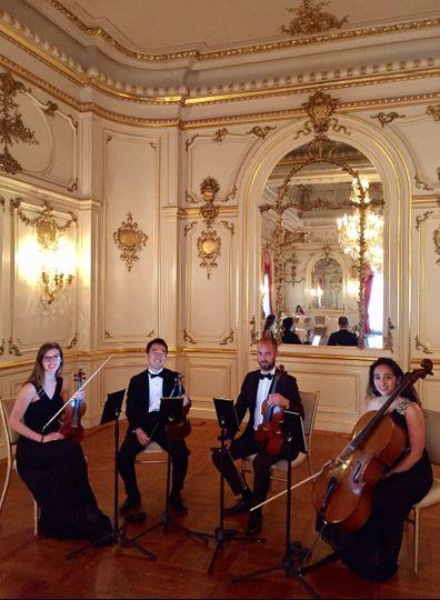 dc wedding musicians string quartet