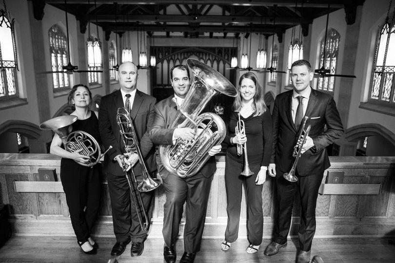 washington virtuosi wedding brass quintet