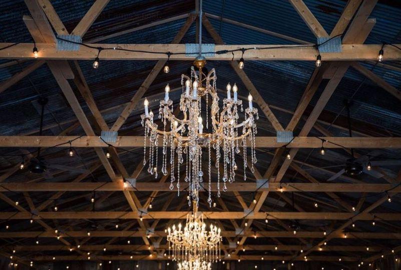 Interior chandeliers