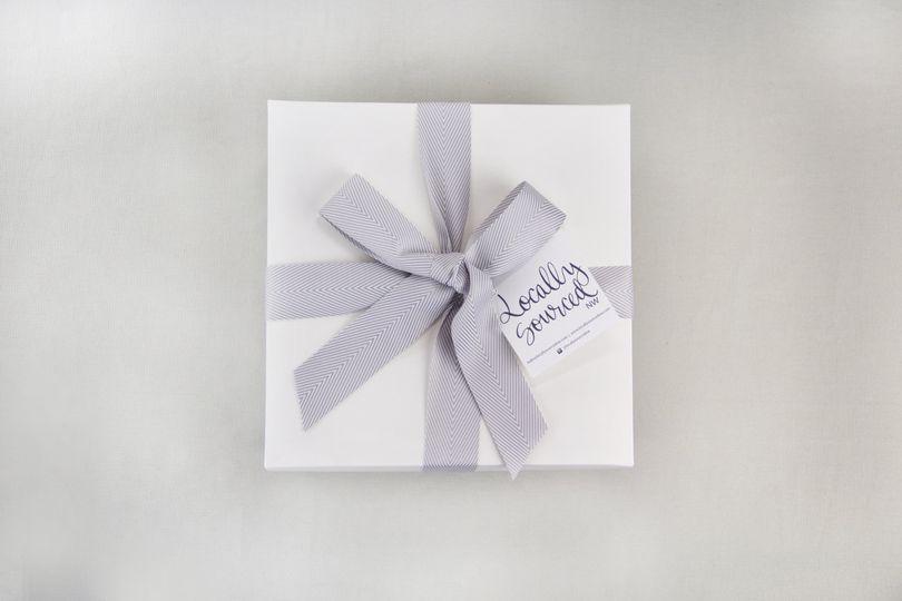 White lux giftbox