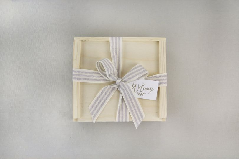 Our unstained wood giftbox