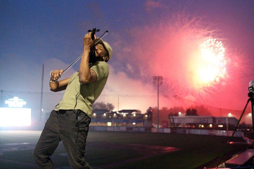 Stadium Fireworks Performance