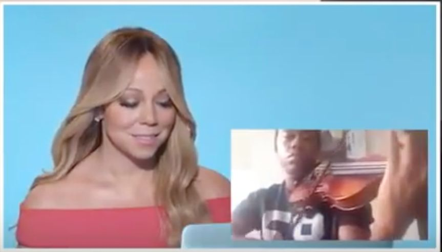 Mariah's Reaction to my video