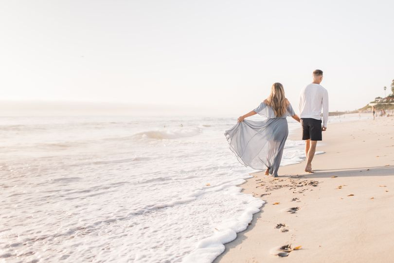 La Jolla Beach Engagement