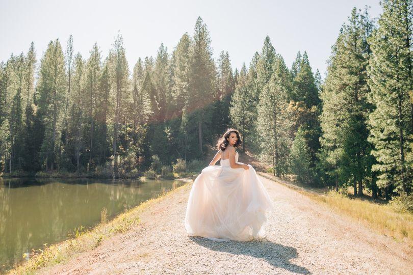 Lake Tahoe Bridal Session