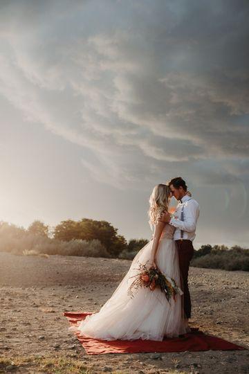 Beautiful couple outdoor photo