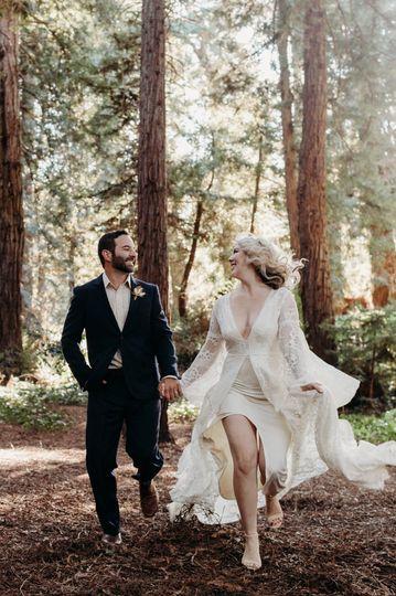 Redwoods elopement