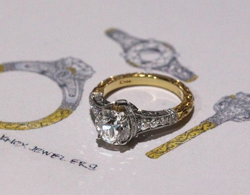 rebecca kristine hand engraved filigree antique